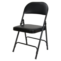 Vinyl Padded Folding Chair OP962 | Caster Town