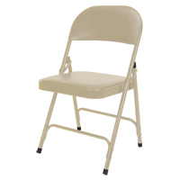 Vinyl Padded Folding Chair OP963 | Caster Town