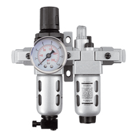 Modular Filter/Regulator & Lubricator (Gauge Included) TYY178 | Caster Town