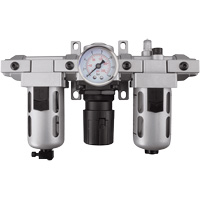 Modular Filter, Regulator & Lubricator (Gauge Included) TYY181 | Caster Town
