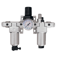 Modular Filter, Regulator & Lubricator (Gauge Included) TYY184 | Caster Town